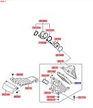 Фильтр воздушный киа Соренто 2, KIA Sorento 2009-14 XM, HS01-HD033, 281132P300, фото 3