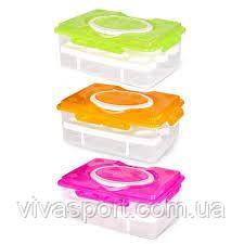 Компактный контейнер для хранения яиц в холодильнике на 24 шт, контейнер для яиц