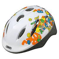 Велосипедний дитячий шолом ABUS SMOOTY Zoom M Smiley White 395840, КОД: 1082249