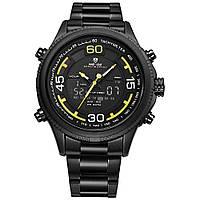 Часы Weide Yellow WH6306B-3C WH6306B-3C, КОД: 942147