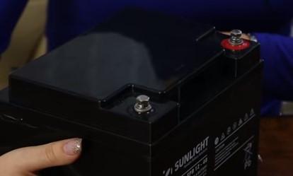 корпус аккумулятора Sunlight sp 12-1.3