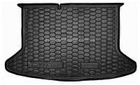 Резиновый коврик багажника Kia Niro 2018- (без органайзера) Avto-Gumm
