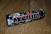 Подушка на розпорку керма кросового мотоцикла Metal Mulisha 20х5см