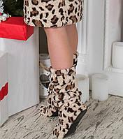 Тапочки чобіточки для дому Leo Eirena Nadine (S-654)