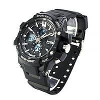 Часы спортивные Skmei 0990 Black 0990BKB, КОД: 974004
