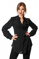 Блуза SL-FASHION 42-44 Черный SLF-443.03-1, КОД: 739788