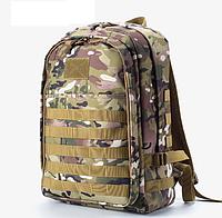 Рыболовный Тактический походный супер-крепкий рюкзак с органайзером 40 литров