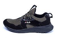 Мужские летние кроссовки сетка FILA  (реплика), фото 1
