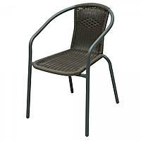 Кресло стул для сада / кафе из ротанга