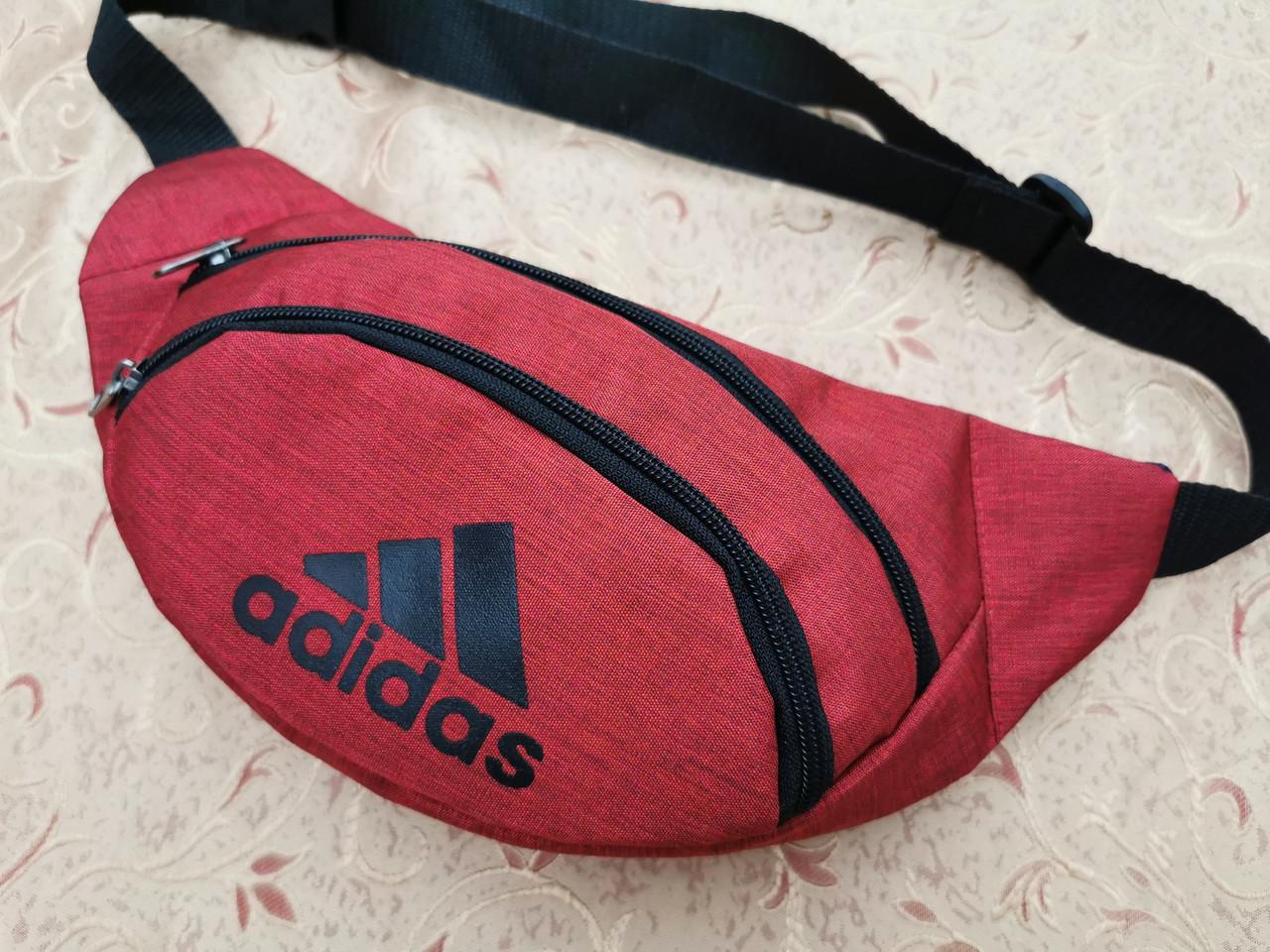 Сумка на пояс adidas Унисекс мессенджер/Спортивные барсетки бананка опт