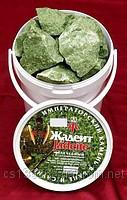Камни для бани - жадеит колотый, 5 кг