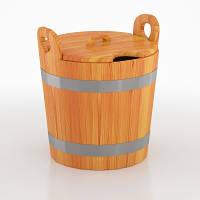 Запарник для бани и сауны с крышкой BentWood 22 л