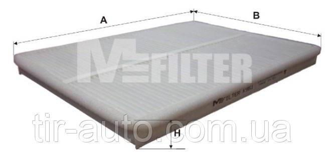 Фильтр салона DAF 95 XF, XF, XF 105, XF 95 01.97- ( M-FILTER )