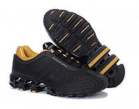 Мужские кроссовки Adidas Porsche Design IV Rubber Black Gold размер 40 (Ua_Drop_111584-40)