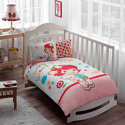 Постельное белье для новорожденных TAC Strawberry Shortcake Sleepy Baby Ранфорс