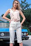 Стильные Льняные женские бриджи 42-60р, фото 2