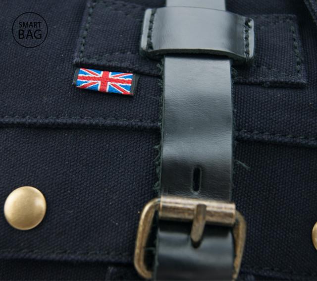 Мужская сумка Akarmy | милитари | черная