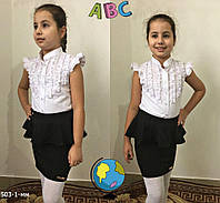 Школьная юбка для девочки школьная форма, фото 1