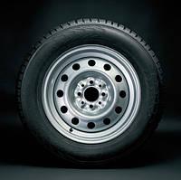 Диск стальной Lada Granta, Priora R14 серебристый оригинал  21700310101502