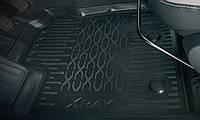 Коврики салона Lada Xray, Cross  полиуретановые оригинал 99999215073182 для комплектаций с вещевым ящиком