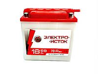Мото аккумулятор Электроисток 3мтс 18 С