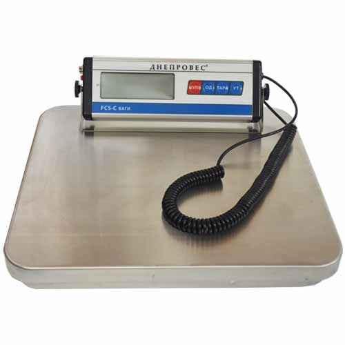 Весы товарные до 300 кг — FCS-C 300 (Днепровес ВПД)