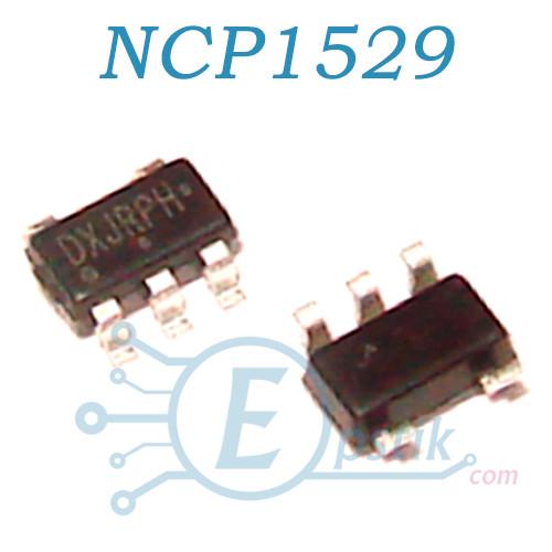 NCP1529ASNT1G, PWM контроллер питания, 1.7MHz, 1A, SOT23-5