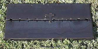 Мангал-шашлычница разборной переносной на 6 шампуров толщина стали 3 мм.