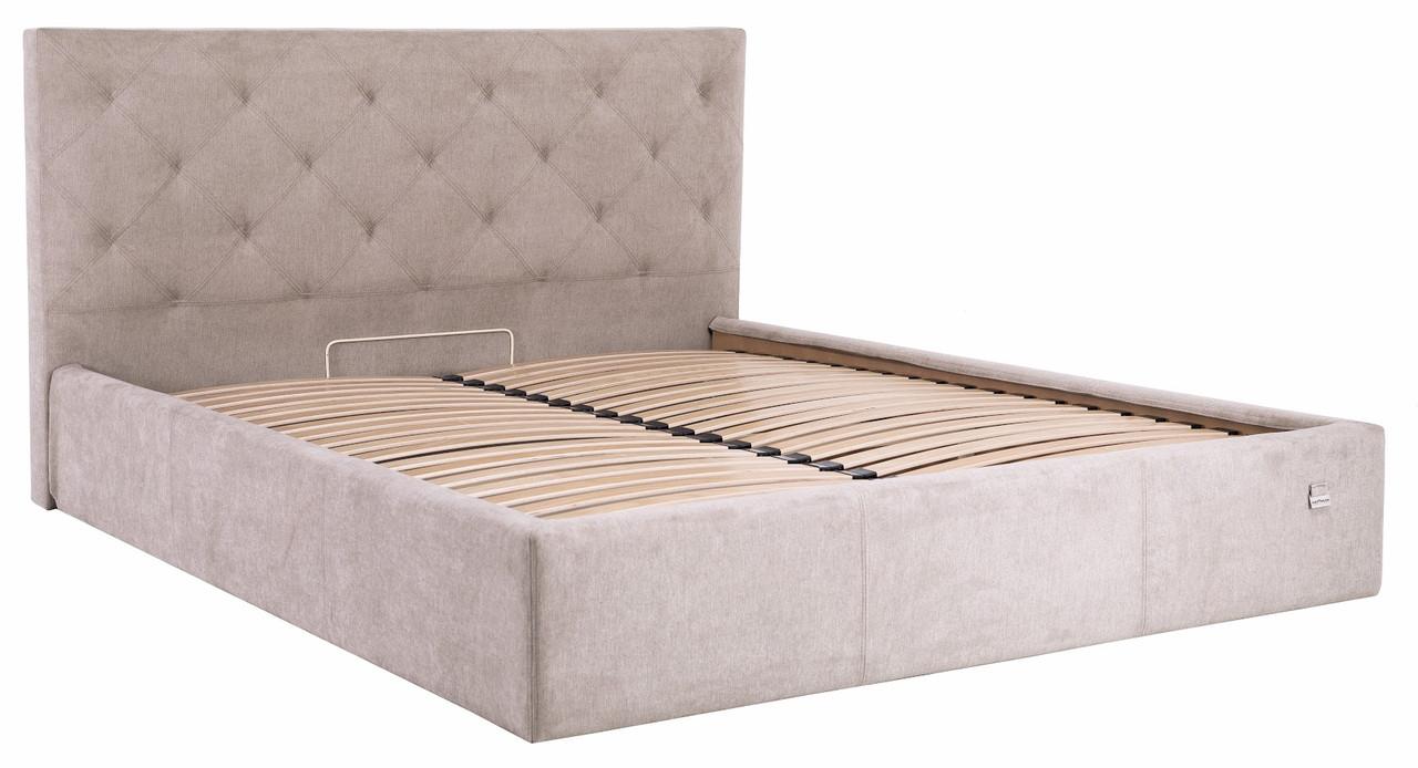 """Двуспальная кровать """"Бристоль"""" с подъемным механизмом (без матраса) ТМ Richman"""