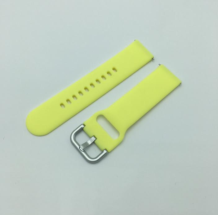 Ремешок Sport Style Active Youth Version для смарт-часов Xiaomi AMAZFIT Bip / 20 мм Yellow (Желтый)