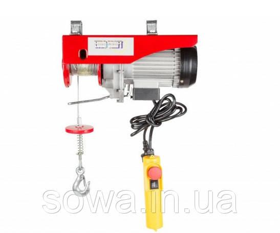 ✔️ Тельфер электрический Euro Craft HJ207 - 400/800kg