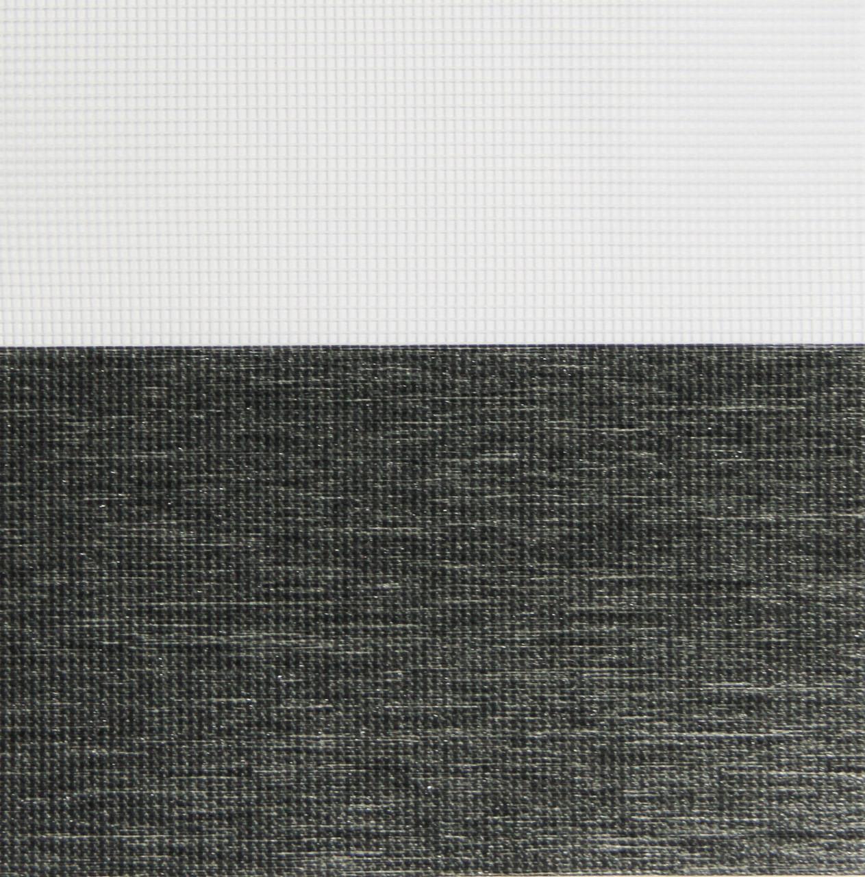 Рулонні штори День-Ніч Тканина Каприз Z-107 Графіт