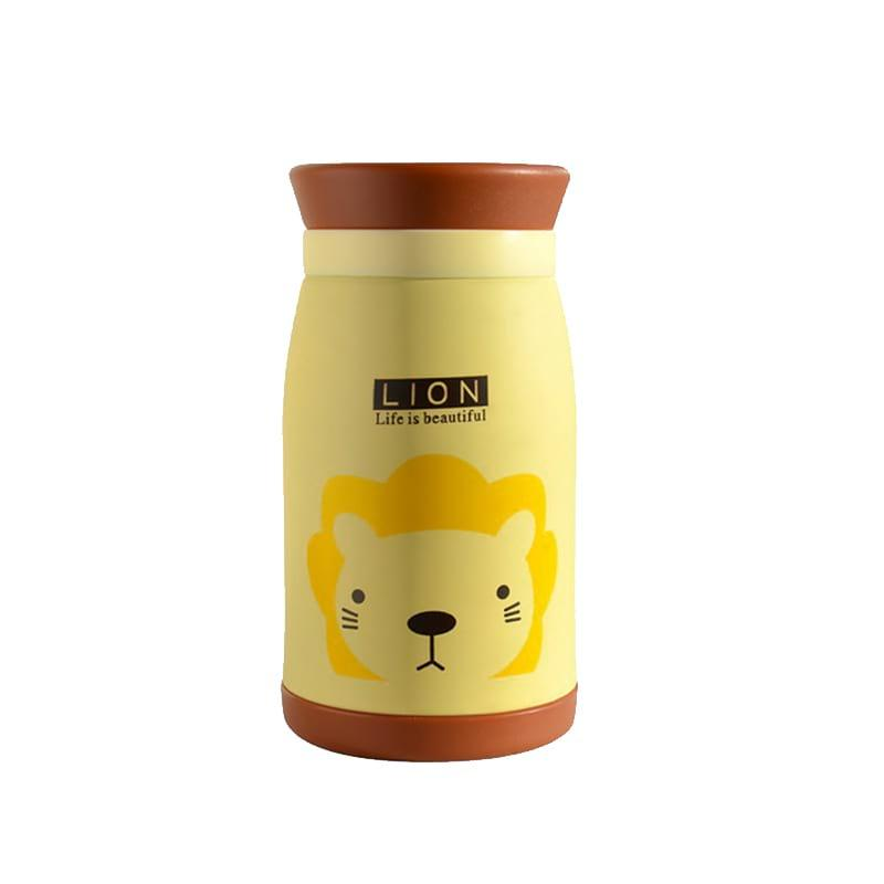 Термос Lion 350 мл желтый (TS-4842), фото 1