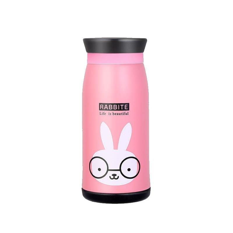 Термос Rabbit 350 мл розовый (TS-4832)