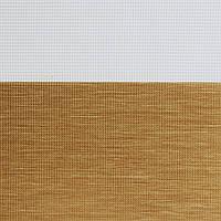 Рулонні штори День-Ніч Тканина Каприз Z-108 Золотий