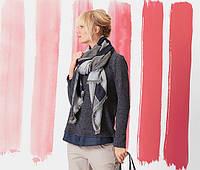 Многослойный эффектный свитер-блуза от Tchibo Германия, размер 44-46 евро наш 50-52 полномерит , фото 1