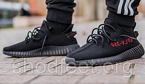 Мужские кроссовки Adidas YEEZY BOOST 350 V2 Black Red