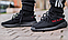 Мужские кроссовки Adidas YEEZY BOOST 350 V2 Black Red, фото 7