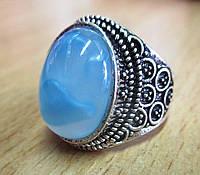 Перстень с  голубым камнем, 19.4 от студии  LadyStyle.Biz
