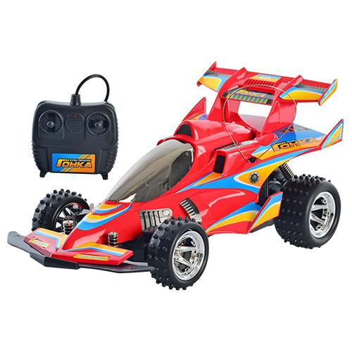 """Машинка на радіоуправлінні """"Гонка"""" M 0360 U/R (3 кольори) з амортизаторами, на акумуляторі і батарейках"""