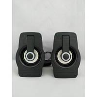 Компьютерные колонки акустика 2.0 USB FnT FT-185 Чёрные, фото 1