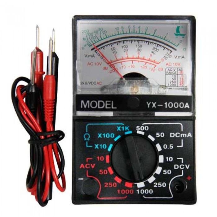 Стрелочный мультиметр YX 1000A тестер