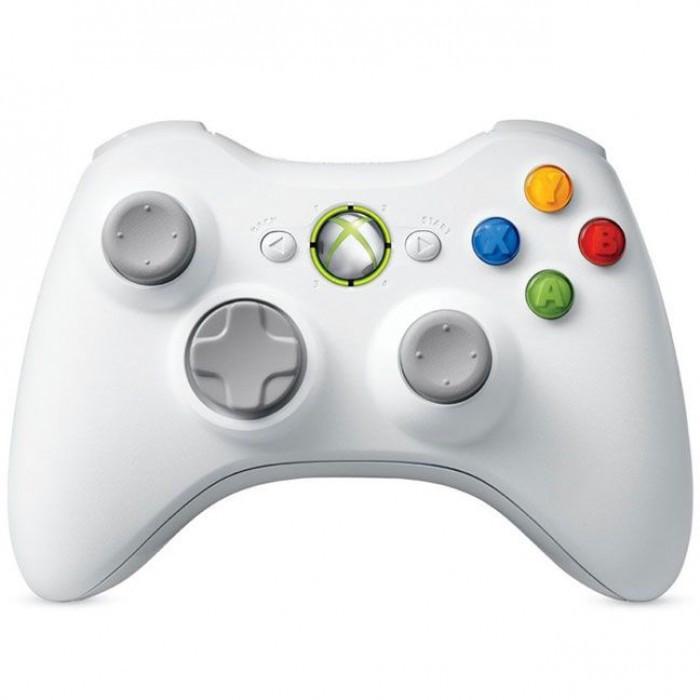 Беспроводной джойстик для Xbox 360 Белый
