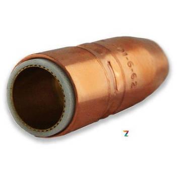 Газовое сопло Tregaskiss 401-6-62 высокой степени нагрузки