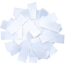 Конфетти-Метафан Белый Премиум 2.5х6 (пленочный) 1кг