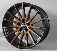 Литые диски R18 черные с бронзой