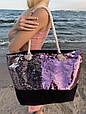 Сумка женская Sequins Pink Пайетки, фото 3