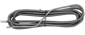Трос канализационный сантехнический 6 м х 10 мм (крот гибкий шланг)