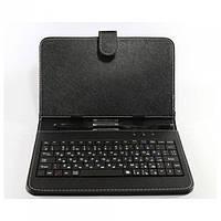 Чехол с русской клавиатурой для планшета 7 mirco Чёрный, фото 1