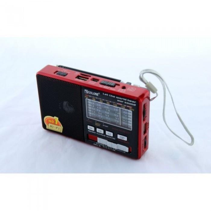 Радио Golon RX-2277 + Power Bank, mp3, USB, фонарь